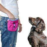 COACHIES PUPPY TREAT BAG PINK_