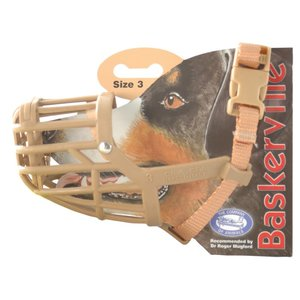 BASKERVIILLE MUZZLE CLASSIC SIZE 3 - Dachshund