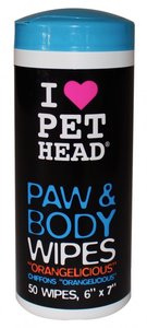 PET HEAD PAW & BODY WIPES