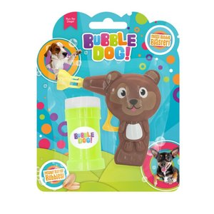 DOGGIE BUBBLE MANUAL GUN PEANUT BUTTER