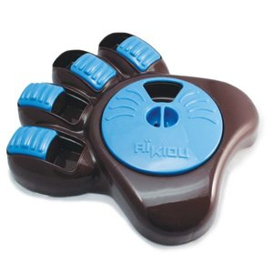 Aikiou Interactive bowl - brown/blue