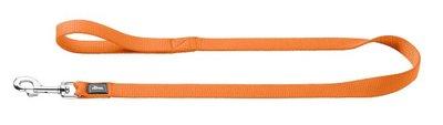 Fuhrleine Nylon, 20/100   orange, Nylon     1