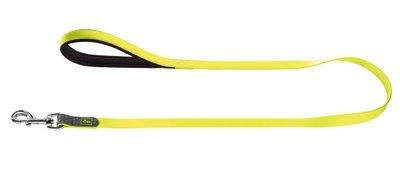 Fuhrleine Convenience, 15/120   neongelb, Kunststoffmaterial     1