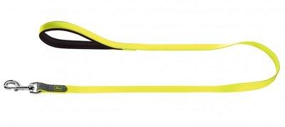 Fuhrleine Convenience, 20/120   neongelb, Kunststoffmaterial     1