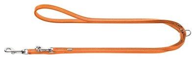 Verst.Fuhrleine Cannes Mini, 11/200   orange, Leder     1