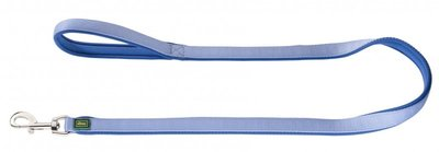 Hunter Führleine Neopren, 25/100 blau, Nylon, Neopren  1