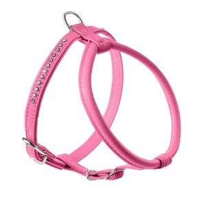Geschirr MA R&S Petit Luxus 37-43/XS-S   Kunstleder, pink     1