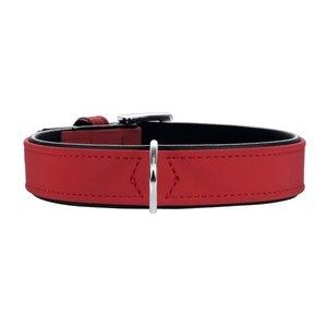 HB Softie 35/XS   Kunstleder, rot/schwarz     1