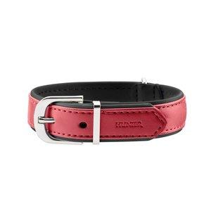 Hunter Halsband Modern Art nickel Rood / Zwart