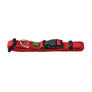 Halsung VB extra breit 22-35/S   Nylon, rot     1