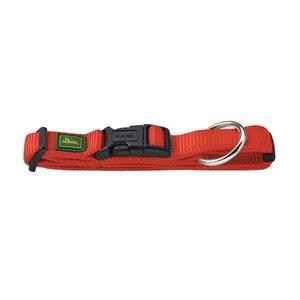 Halsung VP extra breit 35-53/M-L   Nylon, rot     1