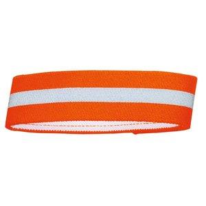 Warnband mit Klettverschluss, L   orange, reflektierend     1