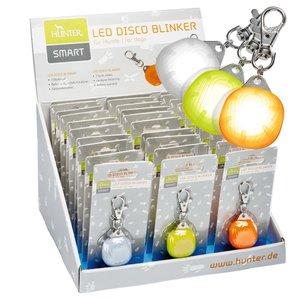 Display LED DISCO Blinker   farblich sortiert     30